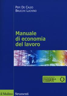 Camfeed.it Manuale di economia del lavoro Image