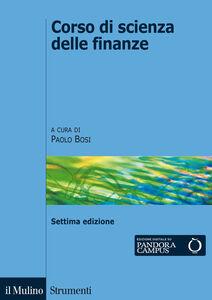 Libro Corso di scienza delle finanze