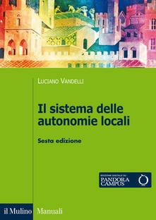 Librisulladiversita.it Il sistema delle autonomie locali Image