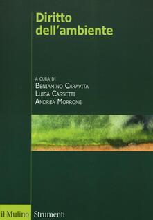 Diritto dell'ambiente - copertina