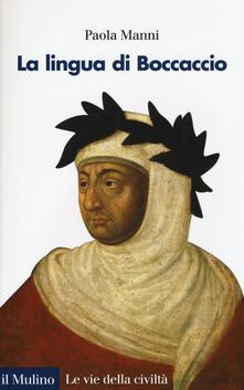 La lingua di Boccaccio -  Paola Manni - copertina