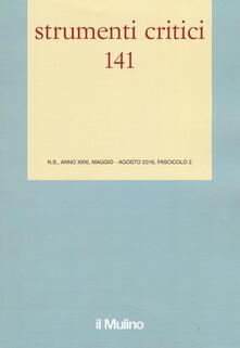 Strumenti critici (2016). Vol. 2 - copertina