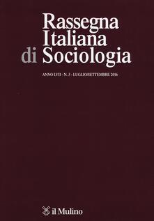 Rassegna italiana di sociologia. Vol. 3 - copertina