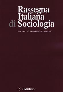 Rassegna italiana di sociologia (2016). Vol. 4 - copertina