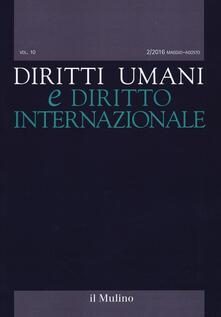 Diritti umani e diritto internazionale. Vol. 2 - copertina