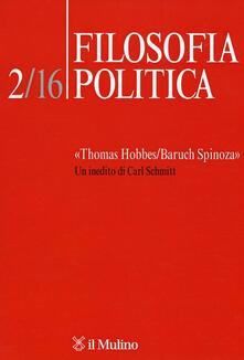 Filosofia politica (2016). Vol. 2: «Thomas Hobbes/Baruch Spinoza». Un inedito di Carl Schmitt..pdf