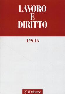 Winniearcher.com Lavoro e diritto (2016). Vol. 1 Image