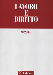 Osteriacasadimare.it Lavoro e diritto. Vol. 3 Image