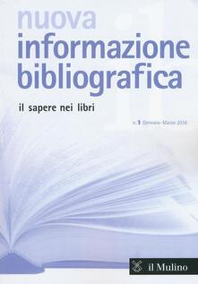 Milanospringparade.it Nuova informazione bibliografica (2016). Vol. 1 Image