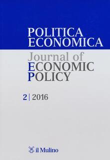 Steamcon.it Politica economica-Journal of economic policy. Vol. 2 Image