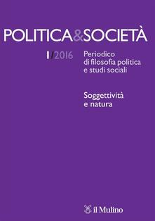 Politica & società (2016). Vol. 1 - copertina