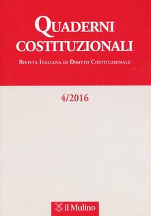 Equilibrifestival.it Quaderni costituzionali (2016). Vol. 4 Image