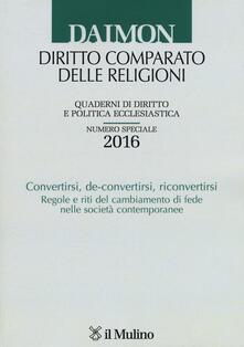 Promoartpalermo.it Daimon. Annuario di diritto comparato delle religioni (2016). Numero speciale Image