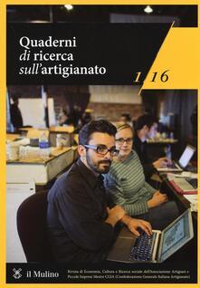 Ipabsantonioabatetrino.it Quaderni di ricerca sull'artigianato (2016). Vol. 1 Image