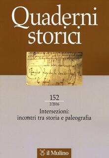 Winniearcher.com Quaderni storici (2016). Vol. 2 Image