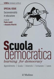 Criticalwinenotav.it Scuola democratica. Learning for democracy (2016). Vol. 1: Gennaio-Aprile. Image