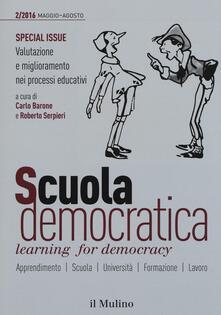 Scuola democratica. Learning for democracy (2016). Vol. 2: Maggio-Agosto. - copertina
