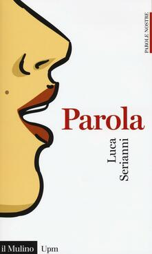 Parola -  Luca Serianni - copertina