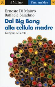 Libro Dal Big Bang alla cellula madre. L'origine della vita Ernesto Di Mauro , Raffaele Saladino