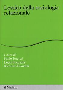 Libro Lessico della sociologia relazionale