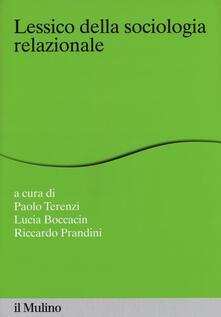 Lessico della sociologia relazionale.pdf