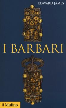 I barbari - Edward James - copertina