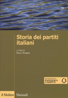 Storia dei partiti italiani. Con e-book - copertina
