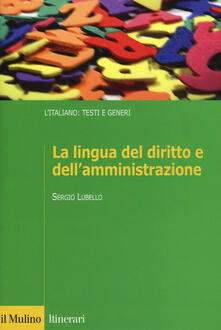 Ristorantezintonio.it La lingua del diritto e dell'amministrazione Image