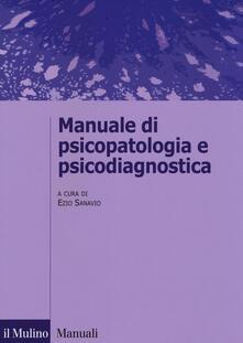 Manuale di psicopatologia e psicodiagnostica - copertina