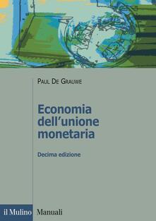 Tegliowinterrun.it Economia dell'unione monetaria Image