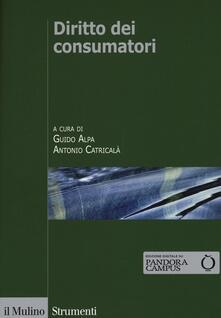 Diritto dei consumatori - copertina