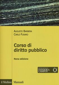 Libro Corso di diritto pubblico Augusto Barbera , Carlo Fusaro