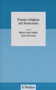 Libro Poesia religiosa nel Novecento
