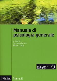 Manuale di psicologia generale - copertina