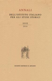 Cefalufilmfestival.it Annali dell'Istituto italiano per gli studi storici (2016). Vol. 29 Image