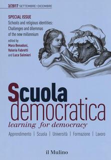 Scuola democratica. Learning for democracy (2017). Vol. 3: Settembre-dicembre. - copertina