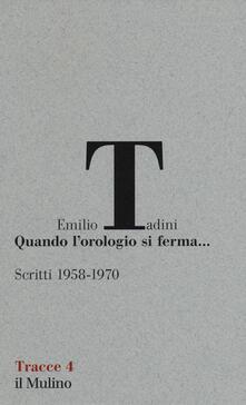Winniearcher.com Quando l'orologio si ferma... Scritti (1958-1970) Image
