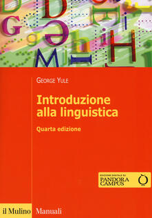 Voluntariadobaleares2014.es Introduzione alla linguistica. Con aggiornamento online Image