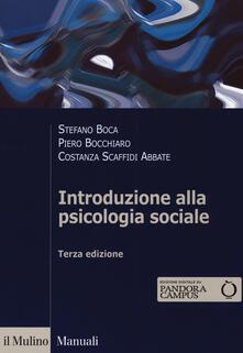 Camfeed.it Introduzione alla psicologia sociale. Con Contenuto digitale per download e accesso on line Image