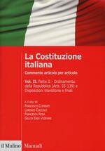La Costituzione italiana. Commento articolo per articolo. Vol. 2