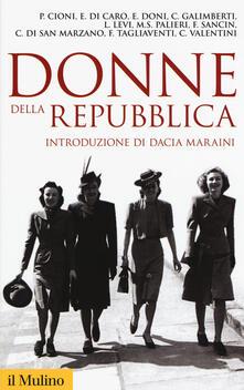 Donne della Repubblica - copertina
