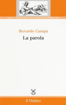 La parola - Riccardo Campa - copertina
