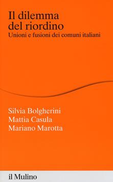 Squillogame.it Il dilemma del riordino. Unioni e fusioni dei comuni italiani Image