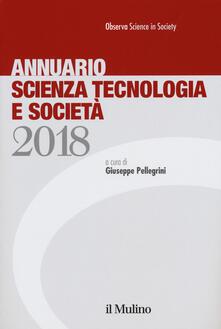 Annuario scienza tecnologia e società (2018) - copertina
