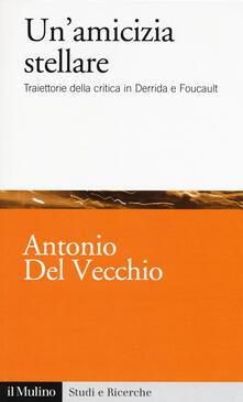 Un' amicizia stellare. Traiettorie della critica in Derrida e Foucault - Antonio Del Vecchio - copertina