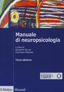 Amatigota.it Manuale di neuropsicologia clinica. Clinica ed elementi di riabilitazione Image