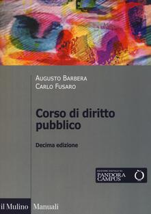 Cefalufilmfestival.it Corso di diritto pubblico. Con espansione online Image