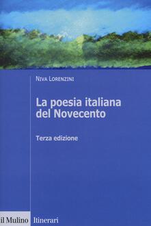 Steamcon.it La poesia italiana del Novecento. Ediz. ampliata Image