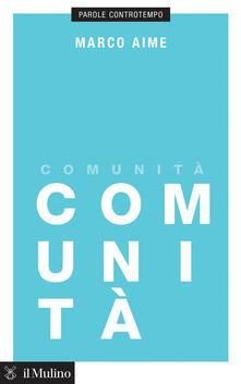 Comunità - Marco Aime - copertina