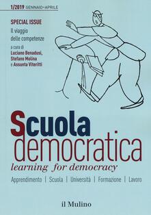 Rallydeicolliscaligeri.it Scuola democratica. Learning for democracy (2019). Vol. 1: Special issue. Il viaggio delle competenze. Image